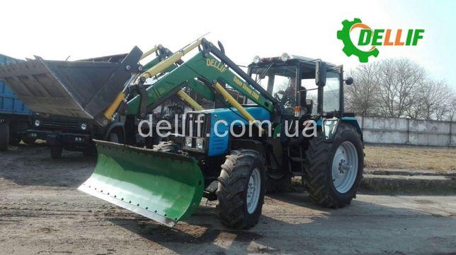 Фронтальный Погрузчик на Трактор МТЗ 1221 КУН Деллиф Супер Стронг 200
