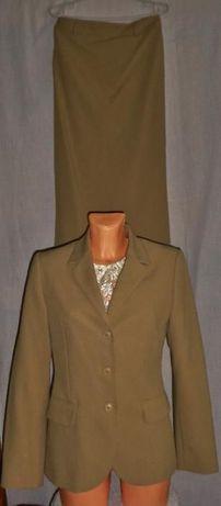 Benetton kostium ze spódnicą jak nowy roz.M