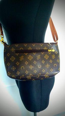 Louis Vuitton vel torebka damska 26x15x5cm