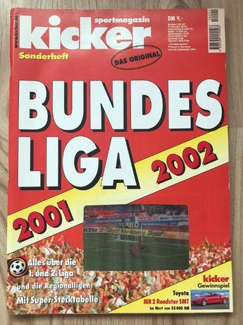 Skarb Kibica Kicker Liga Niemiecka 2001/02