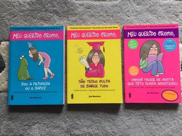 Livros meu querido cromo