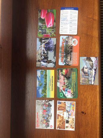 Kalendarzyki listkowe, 69 sztuk, 2010 rok