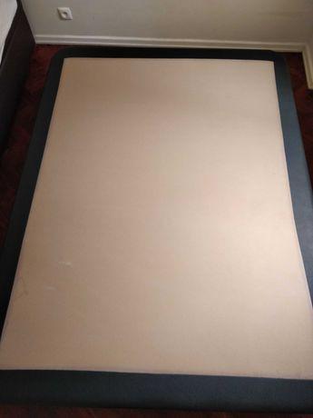 Sommier e colchão - 190 x 140 - cama de casal - Bed and mattress