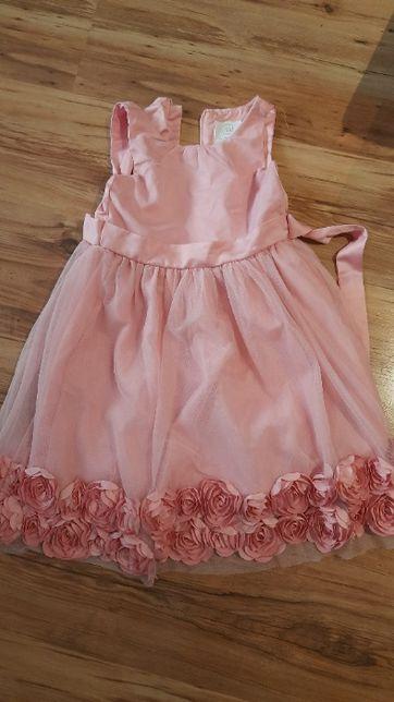śliczna sukienka dla dziewczynki 110