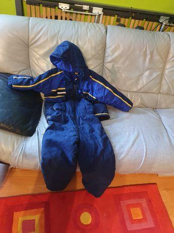 Kombinezon spodnie ocieplane plus kurtka na 116 cm