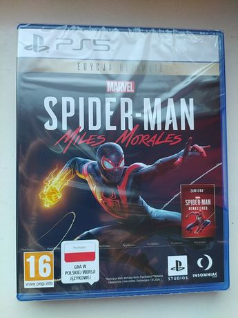 Spider-Man Morales PL PS5 nowa w folii