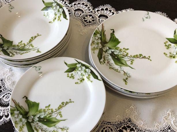 Набір столового посуду S&T/ набір  тарілок