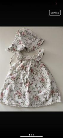 Sukienka kapelusz newbie