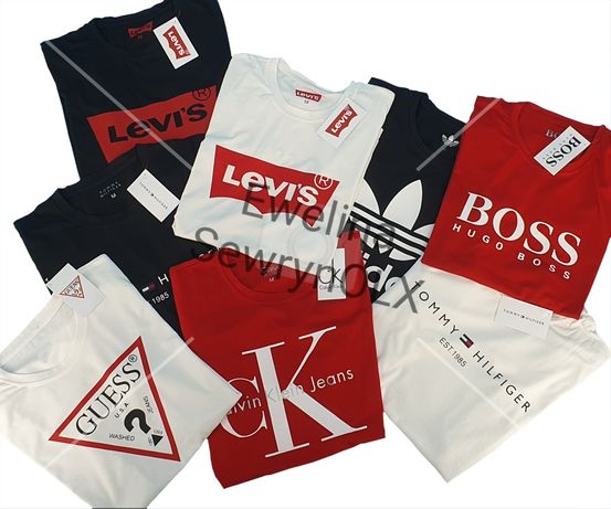 OKAZJA! Bluzka Guess Adidas Tommy Hilfiger Hugo Boss Nike Levi's