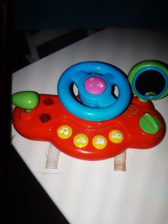 Zabawka kierownica dla dziecka