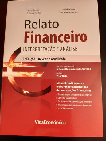 """Livro """"Relato Financeiro, Interpretação e análise"""""""