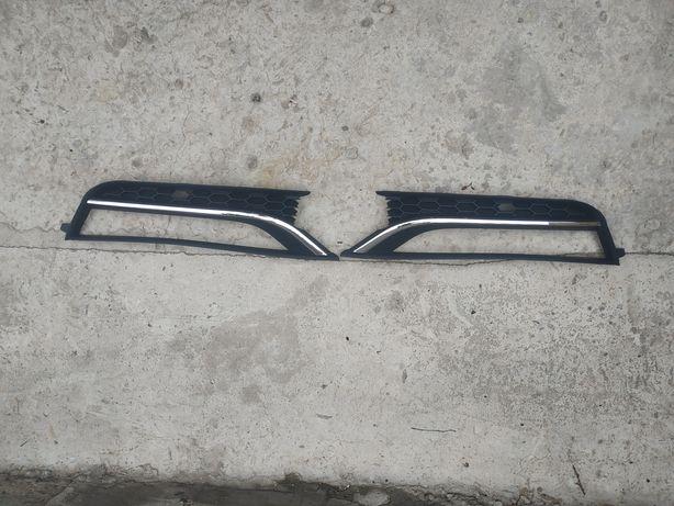 Решетки под туманки Пассат б7 Америка( VW Passat b7 USA)