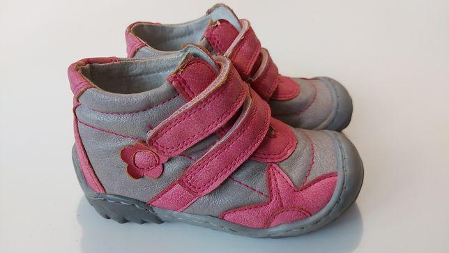 Buty dziecięce skórzane skóra rozmiar 23 KORNACKI