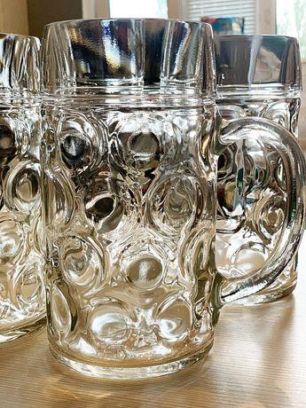 Новый! Borgonovo (Италия) бокалы для пива набор