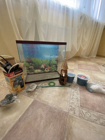 Продам акваріумний набір