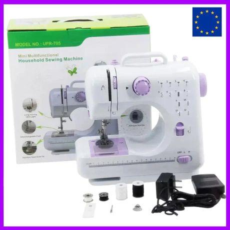 Домашняя швейная машинка, для дома 12 в 1 подарок на 8 марта маме жене