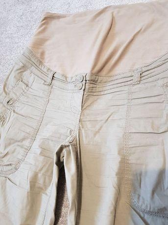 spodnie ciążowe khaki H&M roz M