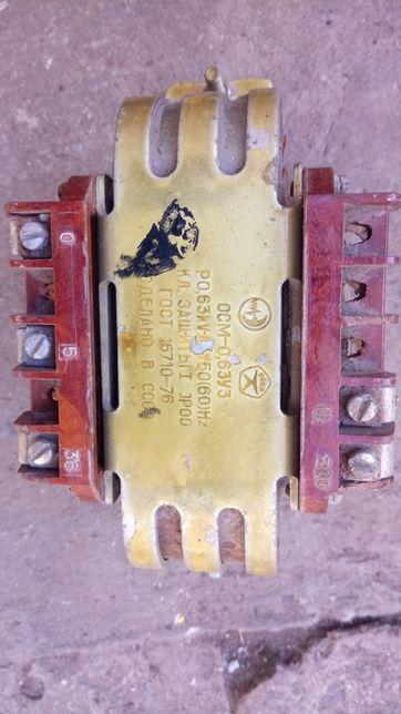 Трансформатор понижающий 630Вт 380В /5 В/36В.