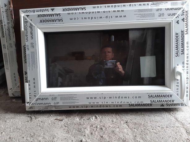 Okna pcv Nowe -sz800x500w- Salamander 7-komorowe