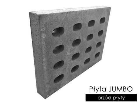PŁOCK Płyty drogowe JOMB Mocne (50KN) 100x75x12,5 cm JUMBO YOMB