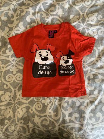 T shirts 6 meses