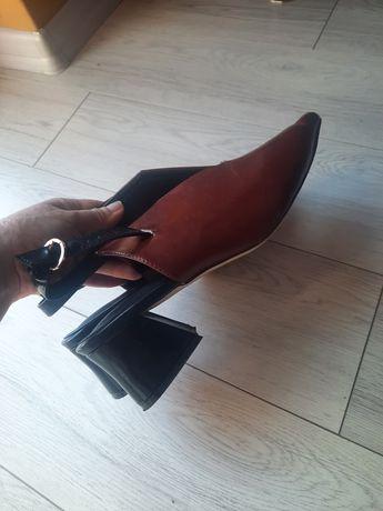 Buty damskie sandały półbuty Reserved rozm 41/42