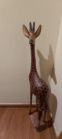 Girafa Africana  - madeira