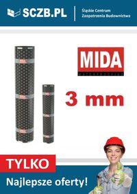 Papa termozgrzewalna MIDA PV S3 WYSOKA JAKOŚĆ podkładowa grubość 3 mm