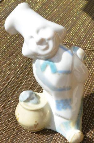 Porcelanowa figurka/Kucharz/Połonne