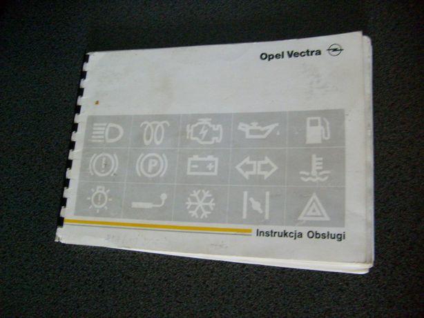 Instrukcja obsługi Opel Vectra