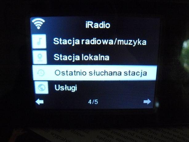 Radio internetowe wifi usb aux equalizer