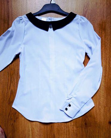 Biała bluzka galowa, Jak NOWA wizytowa, elegancka 152
