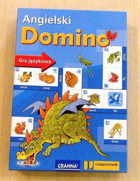 Domino angielski - gra językowa dla dzieci