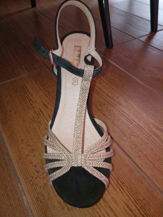 Sandália dourada São Bartolomeu de Regatos - imagem 1