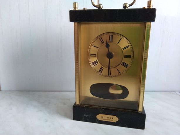 Zegar kwarcowy Weimar kamień