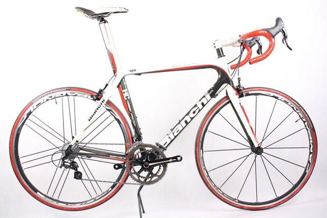 Szosa Bianchi Super LEGGERA carbon 57cm, celeste, Camapgnolo, szosówka