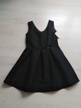 Sukienka czarna ANt'ALL. XL/42. NOWA! Lekko rozkloszowana.