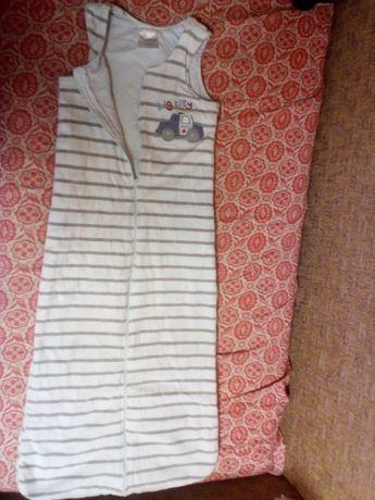 спальник пижама, слип х.б. и теплые на 4-5 лет. 100-110-116