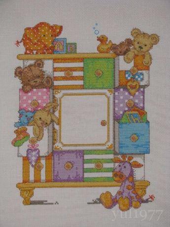 Набор для вышивания Dimensions 73538 Baby Drawers Birth Record
