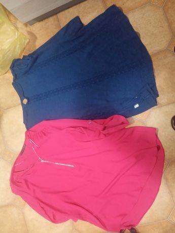 9 szt. Ubrania ciążowe L