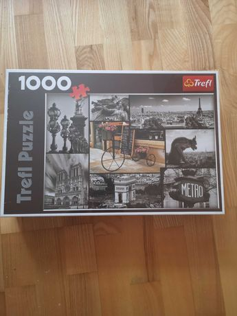 Puzzle trefl 1000 nowe, puzle Paryż