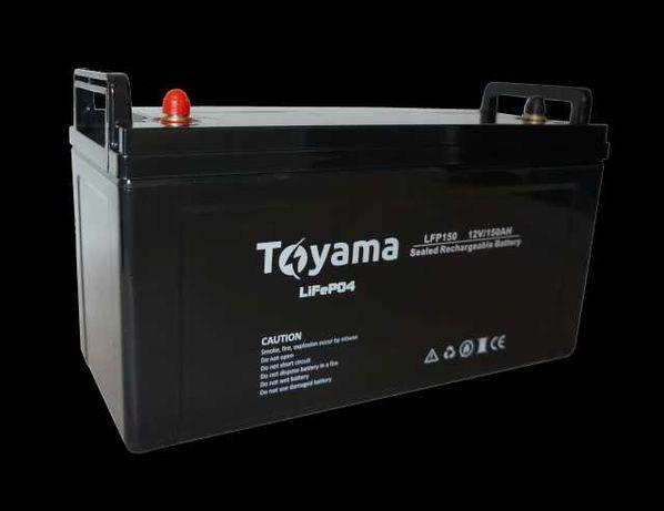 Akumulator Toyama litowy LiFePO4 150Ah 12V z BMS, DZWOŃ-DAMY NAJTANIEJ