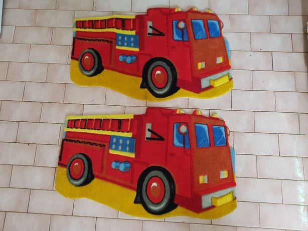 2 Tapetes de Criança - Carro dos Bombeiros