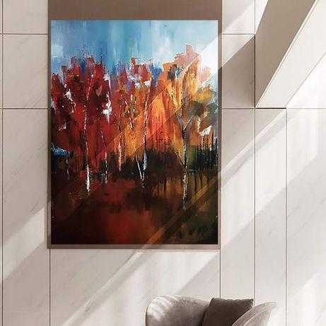 Obraz akrylowy ręcznie malowany