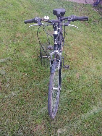 Rower miejski, zadbany
