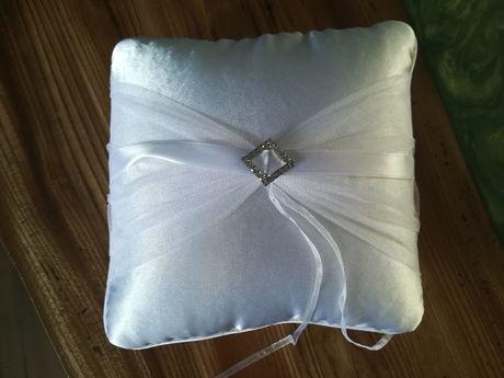 Poduszka na obrączki ślubne NOWA