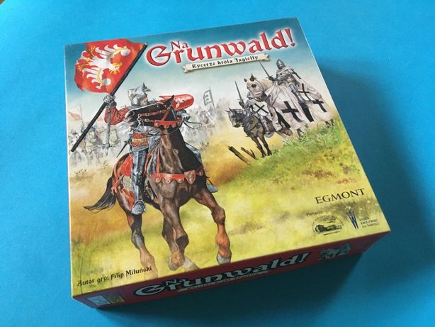 Na Grunwald - Rycerze króla Jagiełły - Egmont - rodzinna gra planszowa
