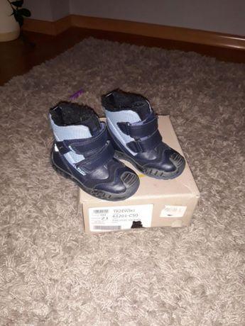 Zimowe buty chłopięce BARTEK rozmiar 21