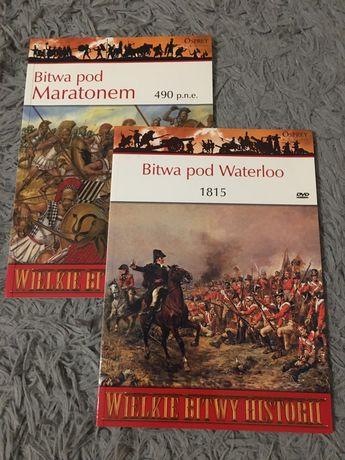 Wielkie Bitwy Historii - 2 książki