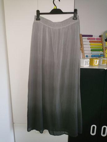 Tiulowa spódnica cieniowana plus size święta sesja